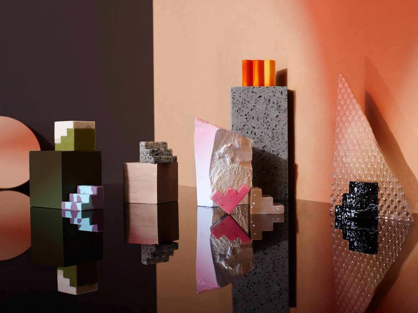 Stairstep Chocolates Designed by Universal Favourite Stack into Cubes of Complementary Flavors