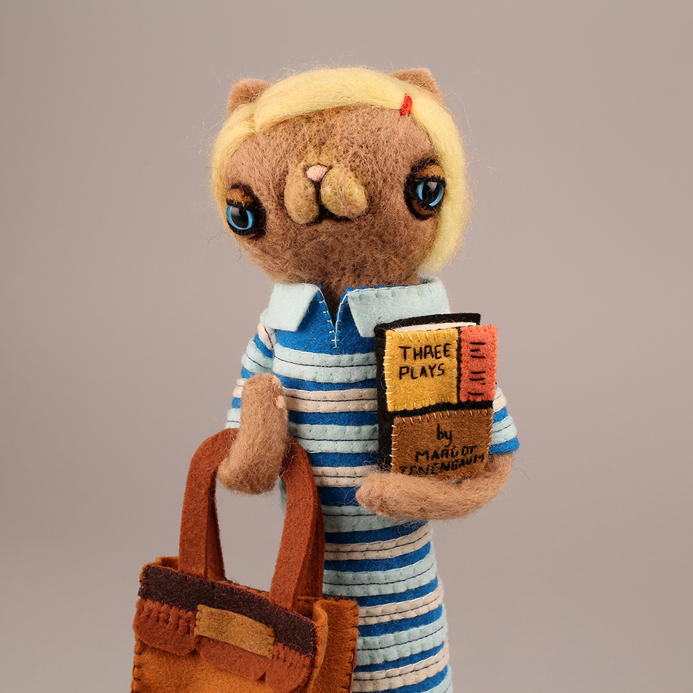 Quirky New Felt Storybook Characters by 'Cat Rabbit'