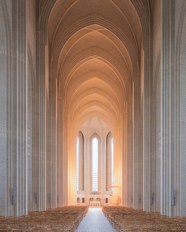 church Interior Interiors Copenhagen churches