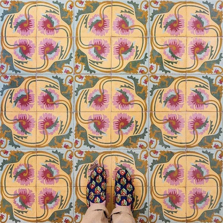 Colourful Cuban Floors Project (9 pics)