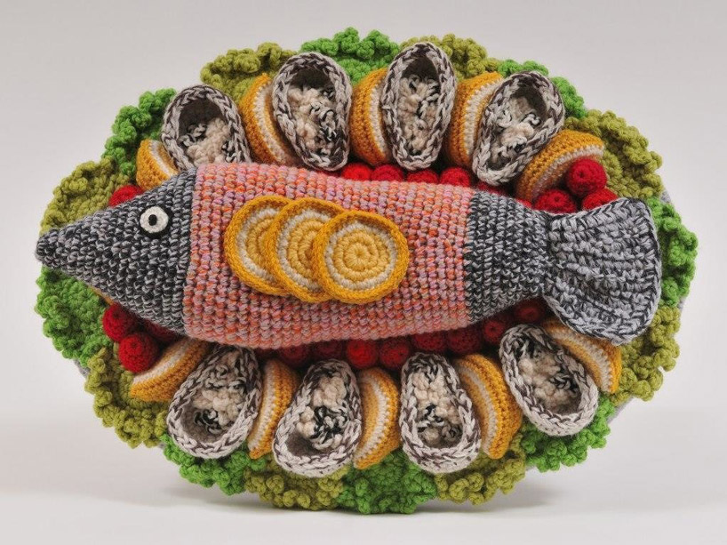 Amusing Crocheted Food Art (7 pics)