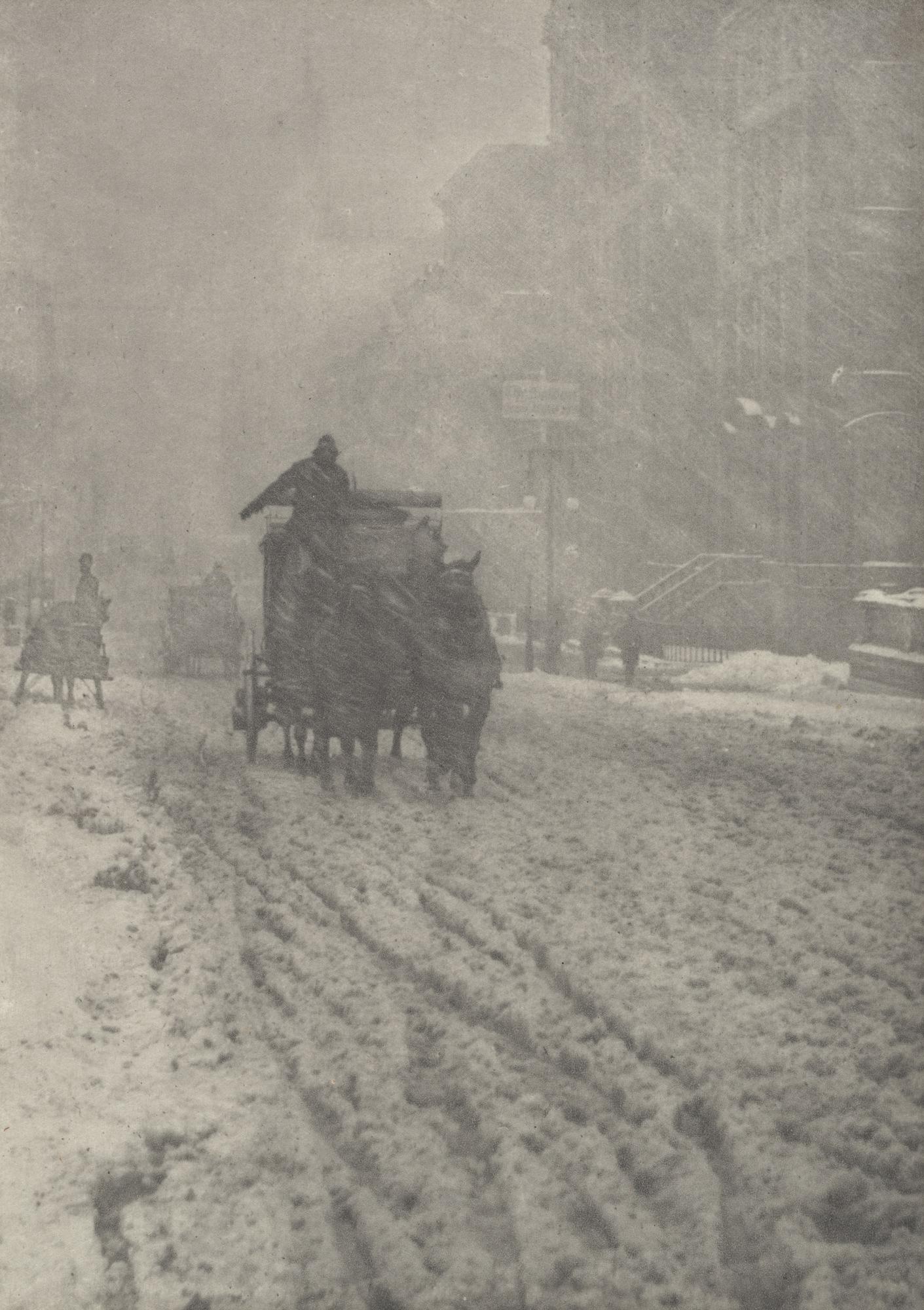 1893. Зима, Пятая авеню
