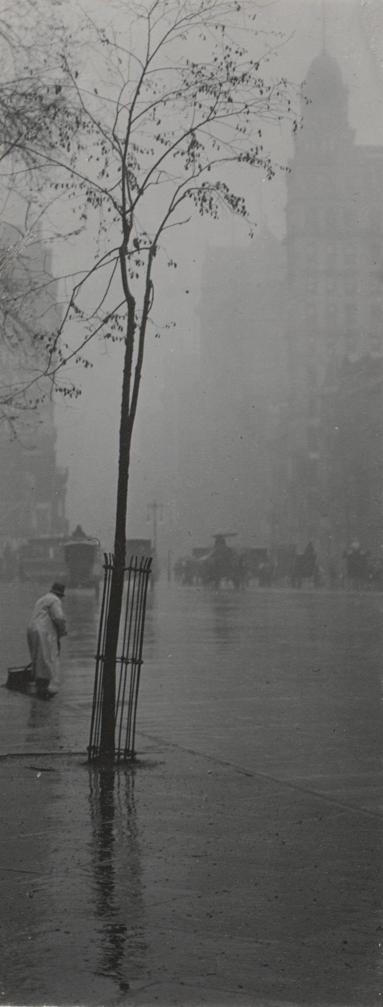 1900. Весенний дождь