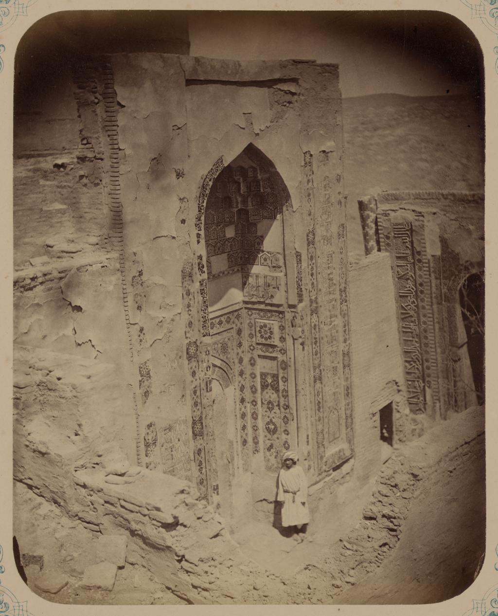 Мавзолей дочери эмира Ходжи Туглу-Текин. Вид фасада