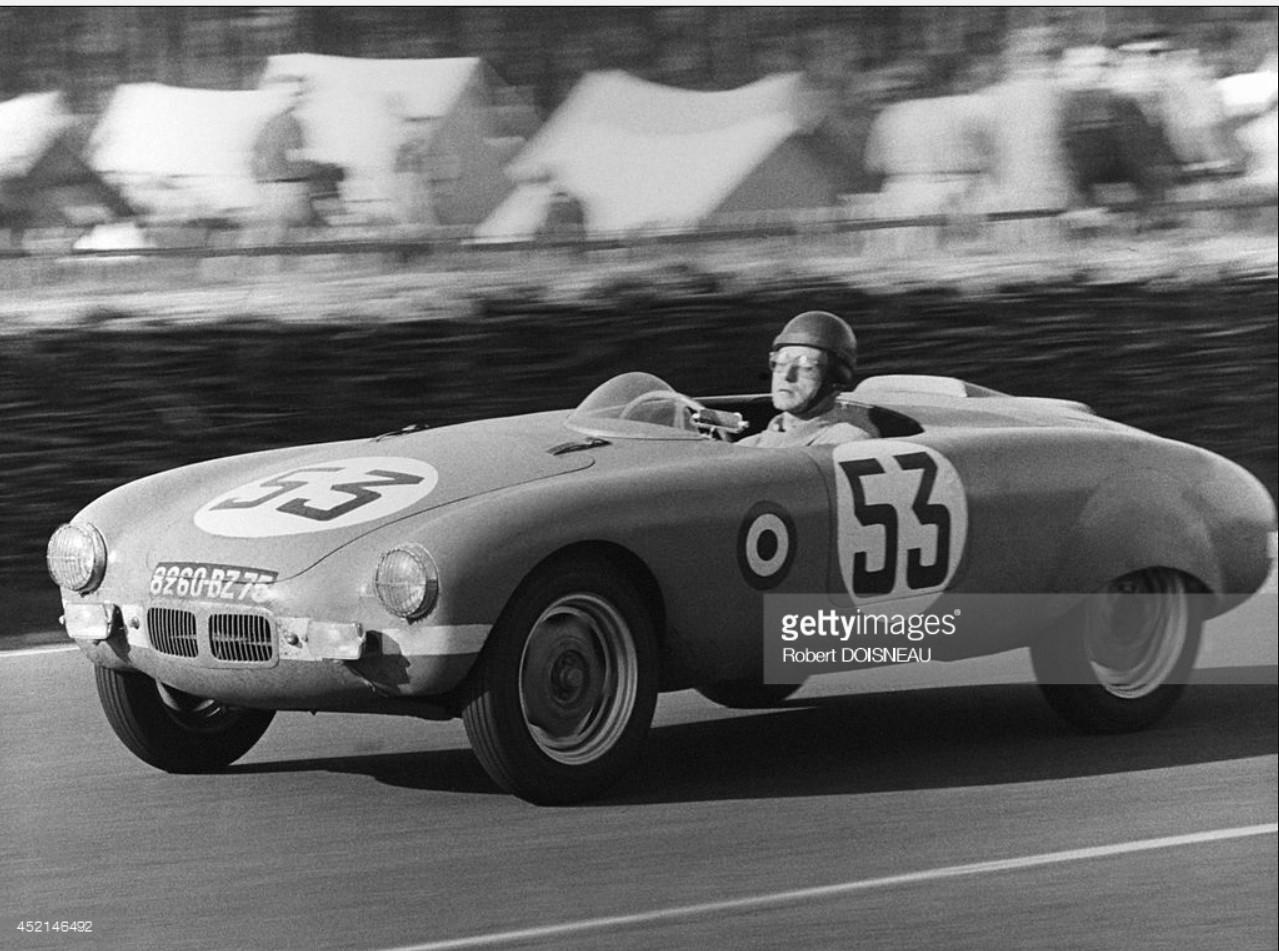 1960. Автопробег по Франции, Монтерей