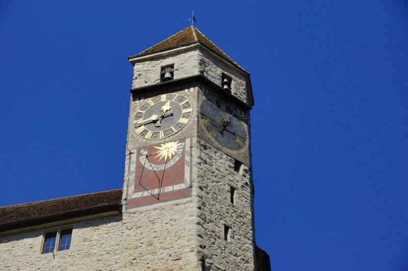 Солнечные часы в крепости рапперсвиль