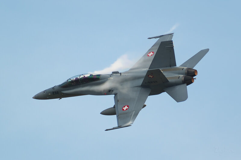 McDonnell Douglas F/A-18D Hornet (J-5232) Switzerland Air Force D801872b