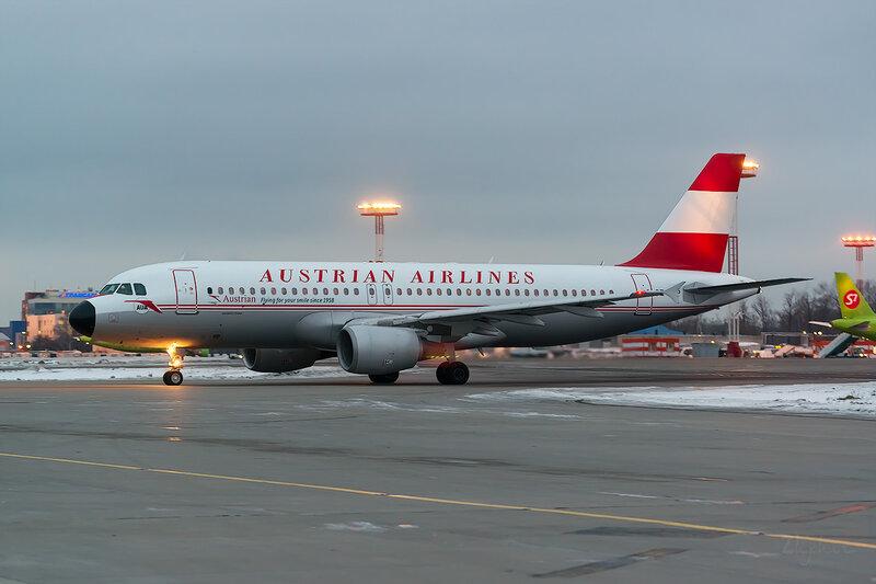 Airbus A320-214 (OE-LBP) Austrian Airlines D803559
