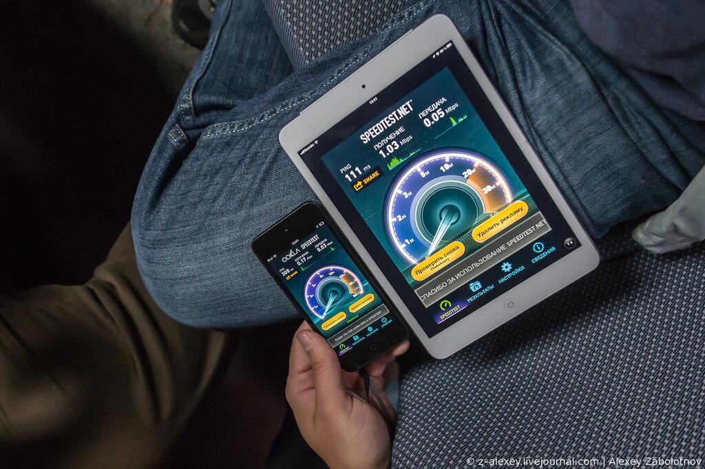 МегаФон тест-драйв 3G-интернета в Новочебоксарске