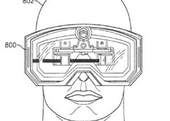 Apple получила патент на очки виртуальной реальности