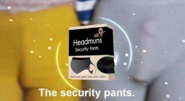 """Креативные """"трусы безопасности"""" для тайских девушек"""