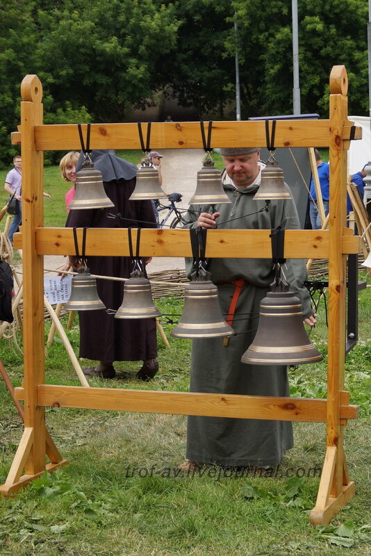 Монах-звонарь, Фестиваль «Времена и эпохи» – 2013