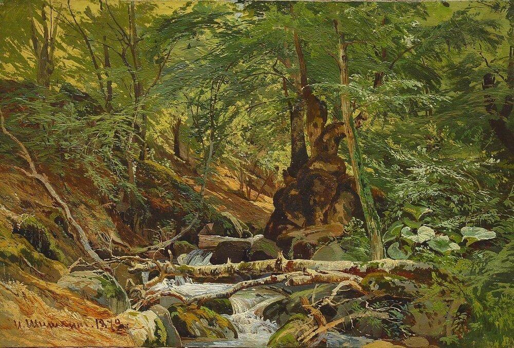 Лесной пейзаж 1879.jpg