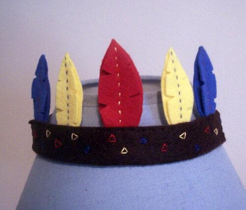 Корона для Индейской Принцессы
