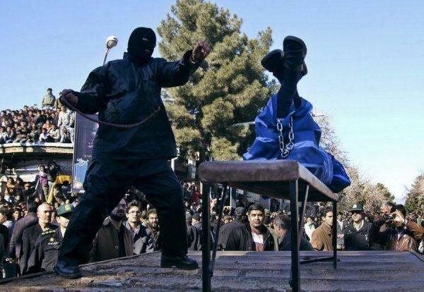 Наказание по Ирански