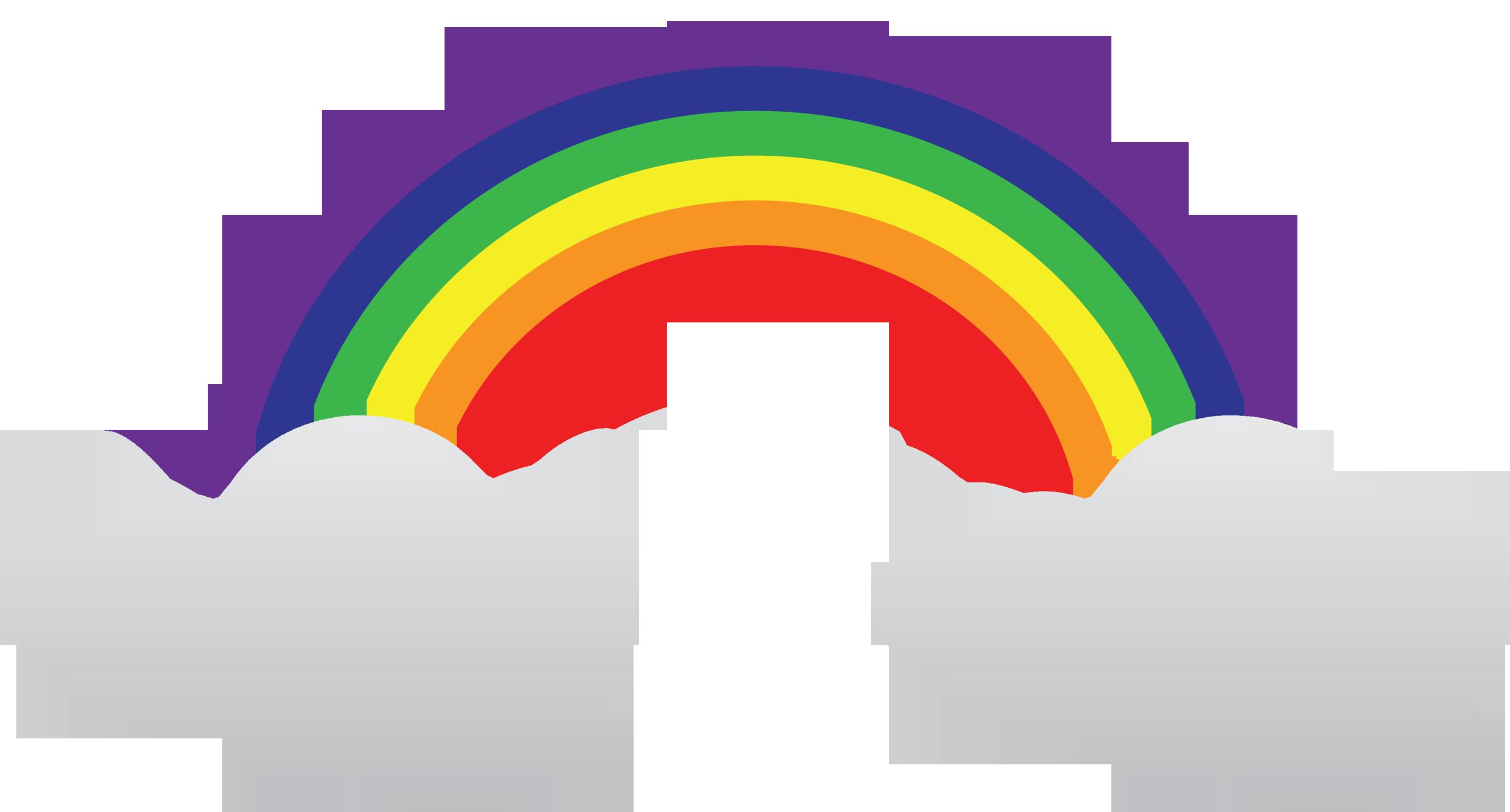 Как сделать радугу на приложение