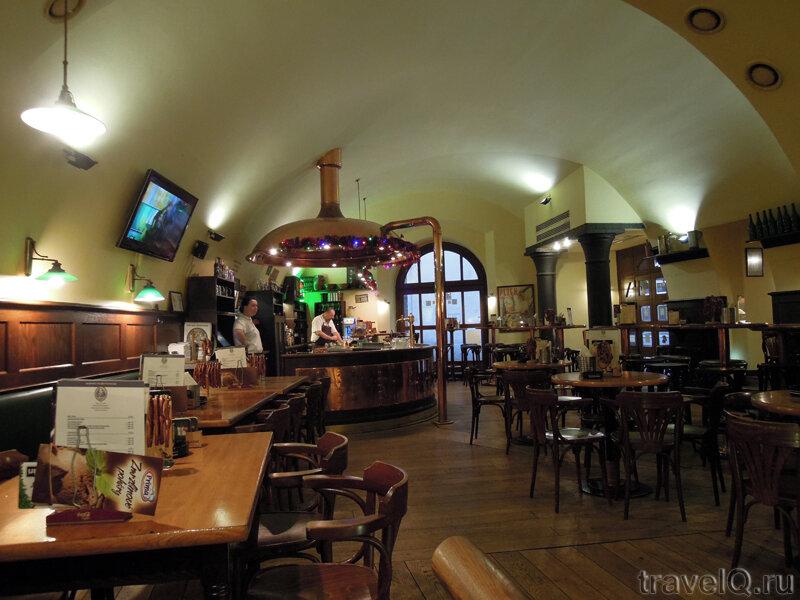 Прага. Ресторан У Воеводы