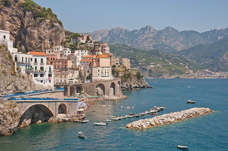 Amalfi Coast, Conca dei Marini