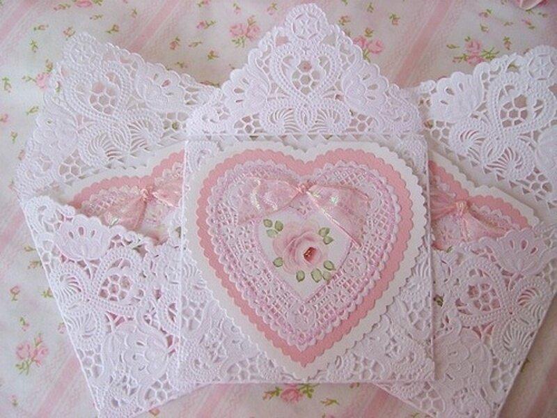 Россыпь сердечек к дню Святого Валентина! Валентинки