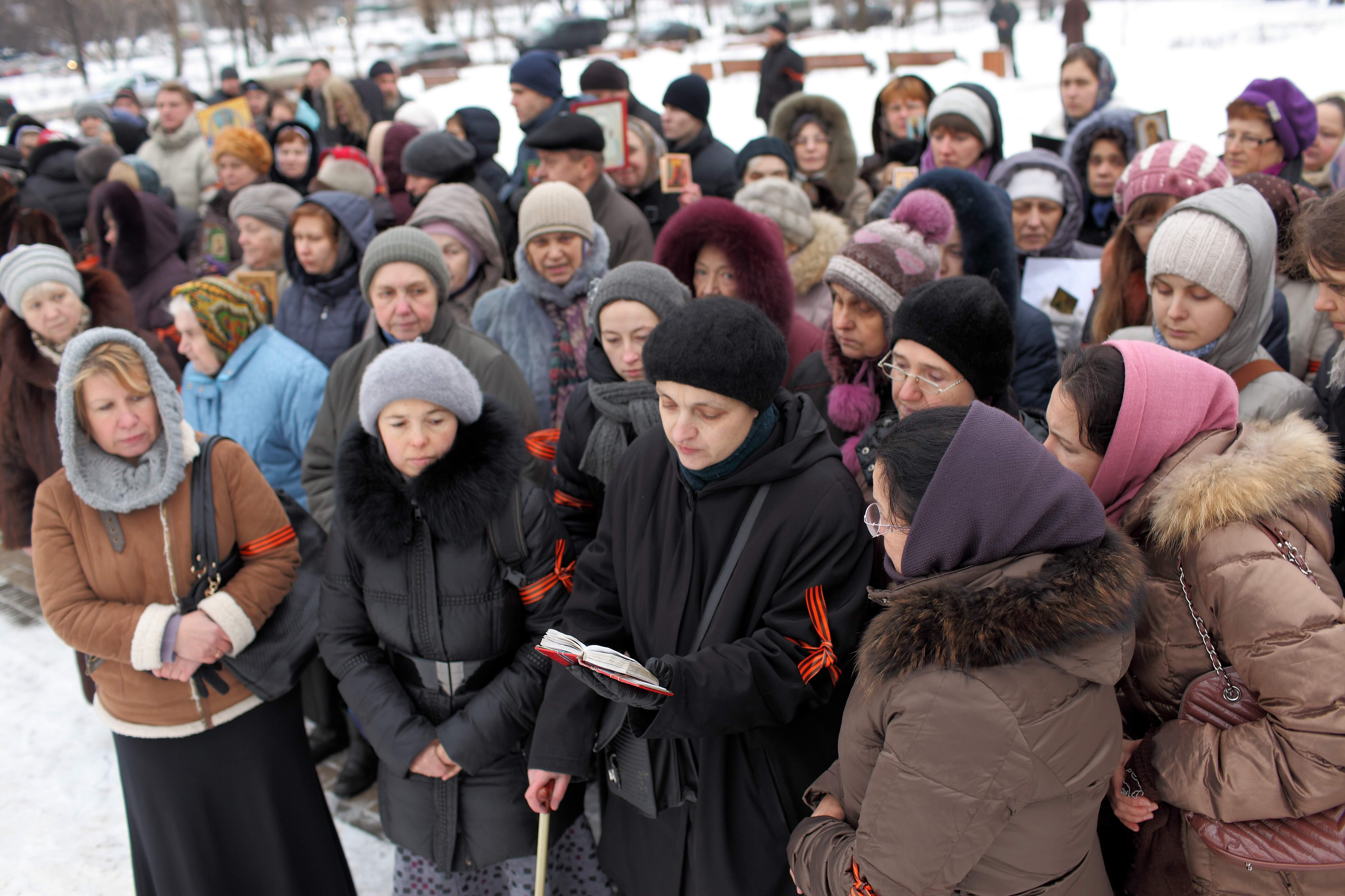 молитвенное стояние. 2013