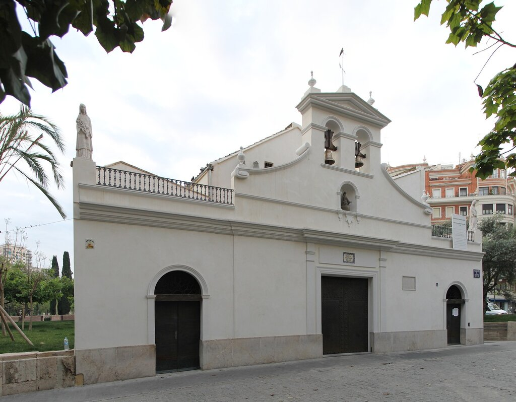 Валенсия. Церковь Санат-Лючия (Ermita de Santa Llúcia)