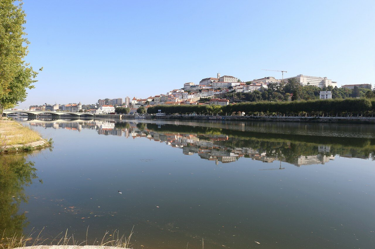 Коимбра. Река Мондегу (Rio Mondego)