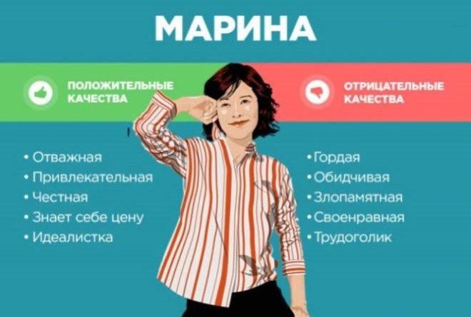 Положительные и отрицательные качества женских имен. А вы нашли свое? (30 фото)