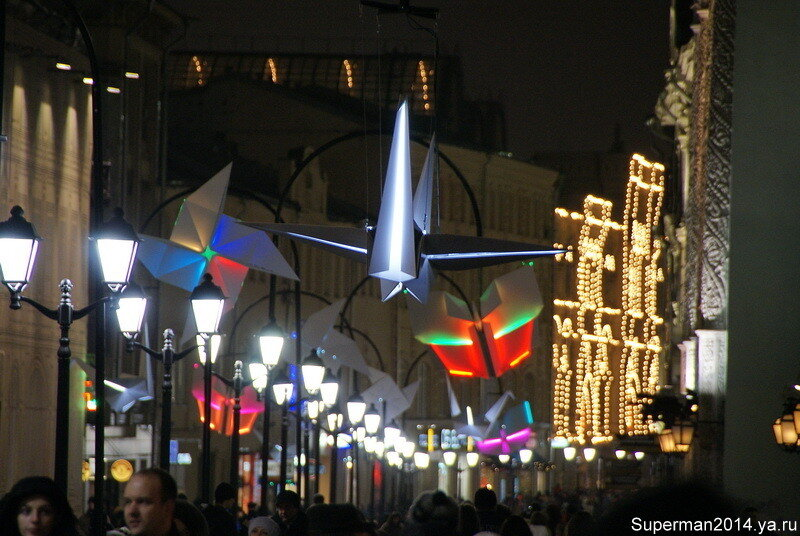 Москва предновогодняя