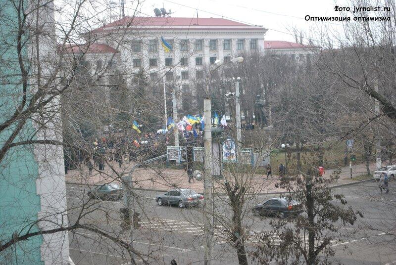 майдан в луганске