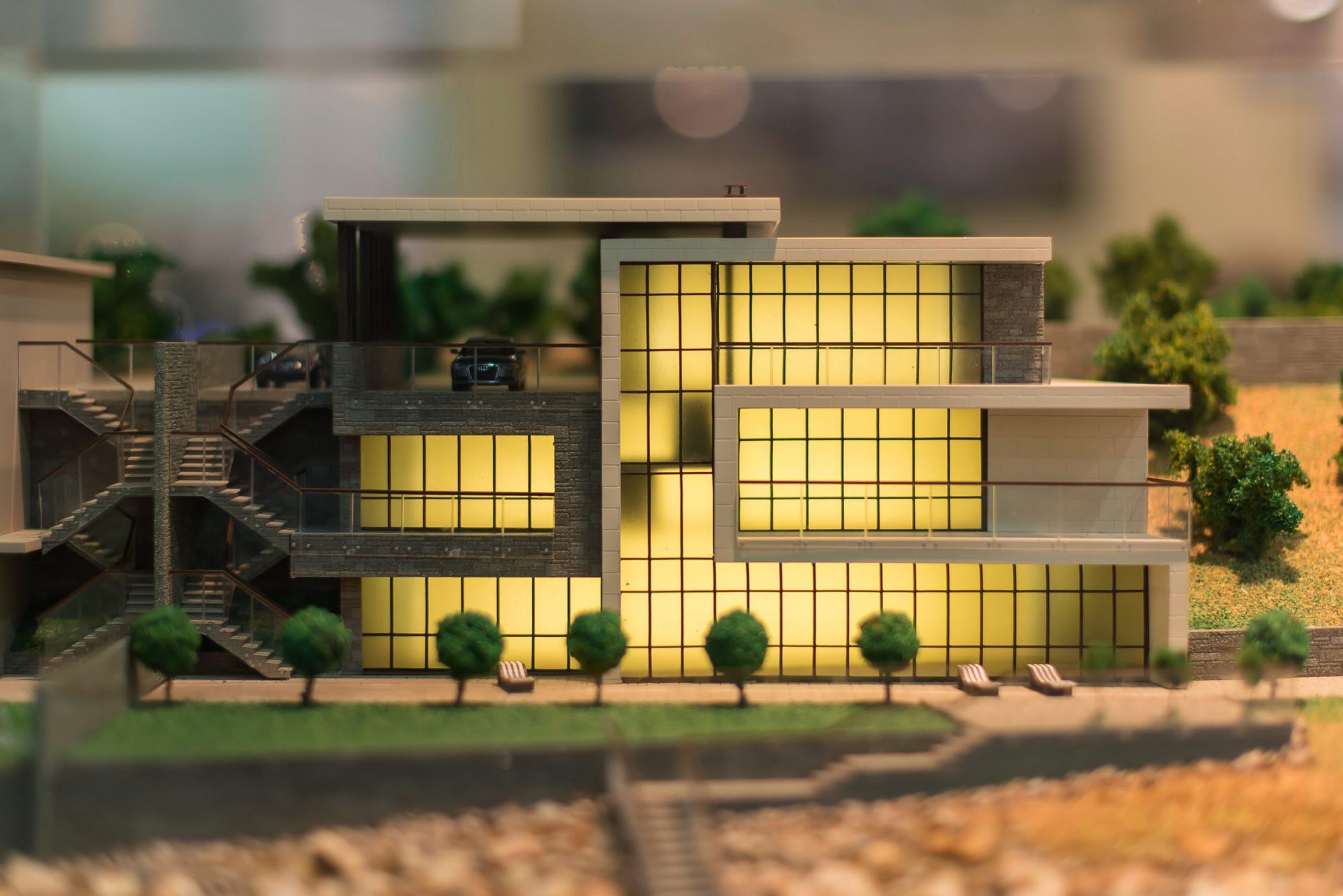 Частный жилой дом