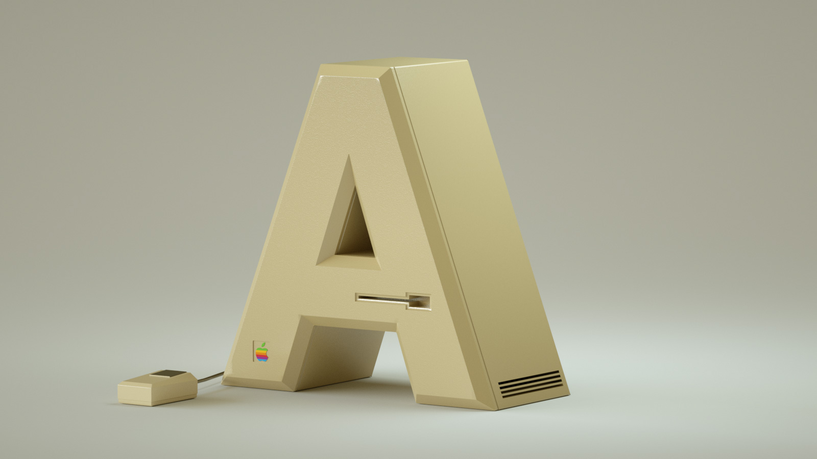 Popular Electronics Brands Rendered as an Alphabet of Stylish Products (10 pics)