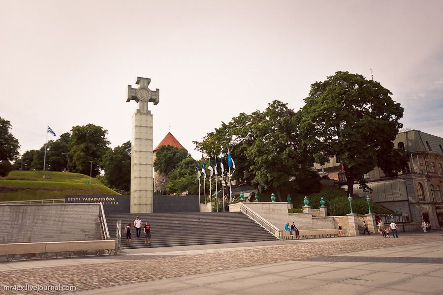 Эстония, Таллин, Крест Свободы