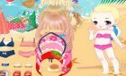 Винкс для вас игра одеваемся на пляж +видео в подарок!