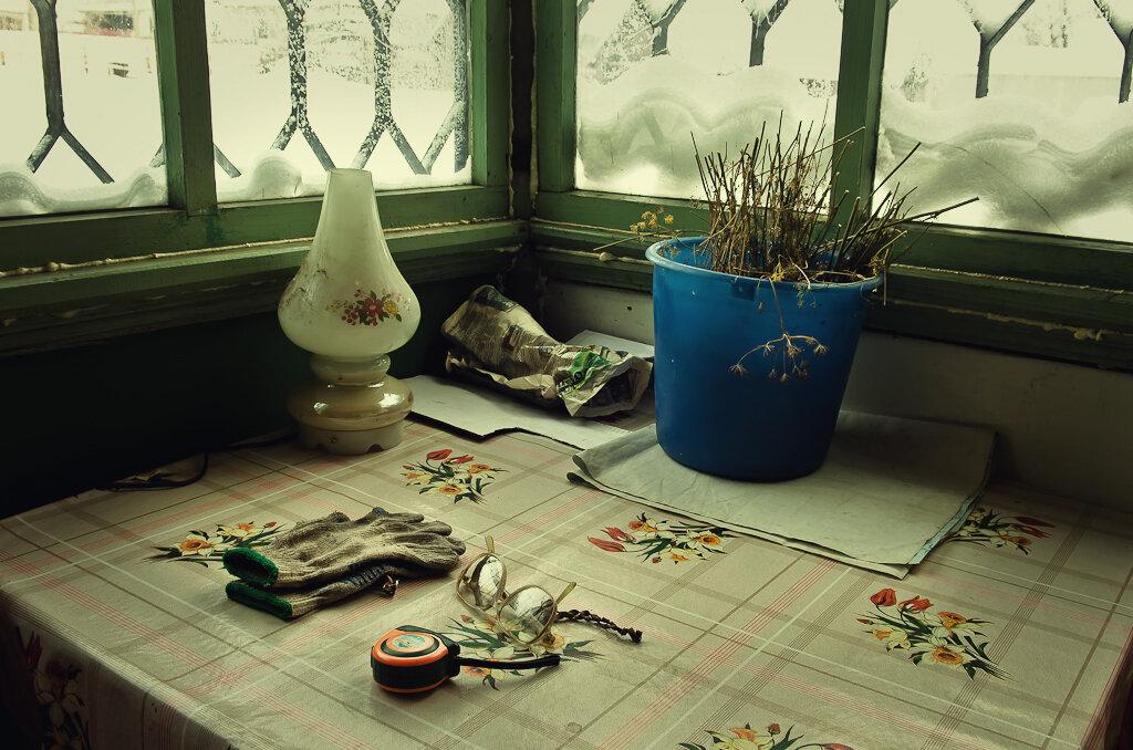 """Зимний натюрморт при естественном освещении. Снято """"как есть""""... Камера Nikon D5100 и объектив Nikon 17-55mm f/2.8G."""