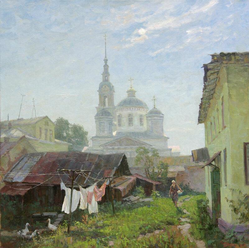 Коробкина Диана Валерьевна. Утро в Кинешме. 2010.