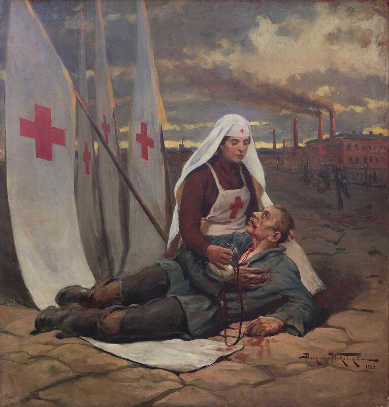 Александр Владимирович Маковский. «Сестра милосердия». 1922