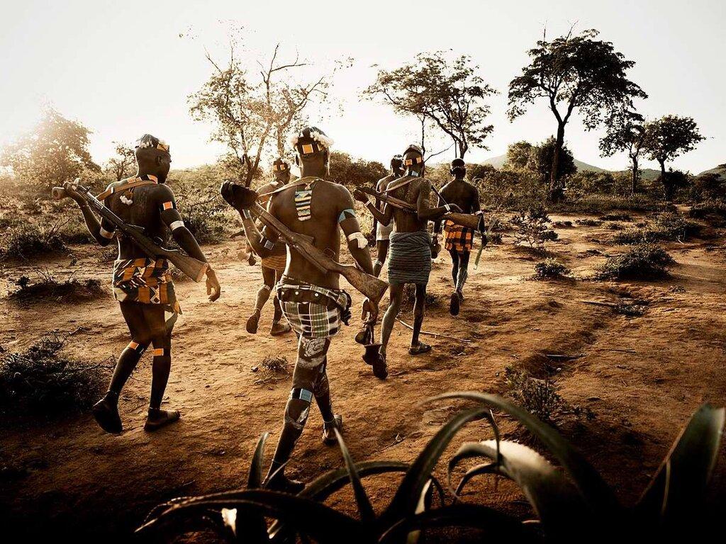 Представители эфиопского племени банна (4)