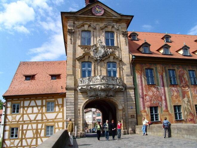 Городская ратуша. Бамберг, Германия