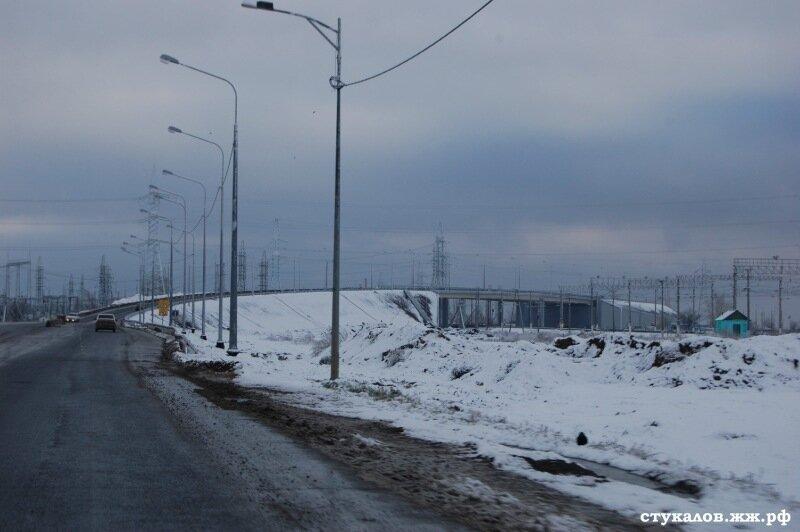 Открытие нового моста до