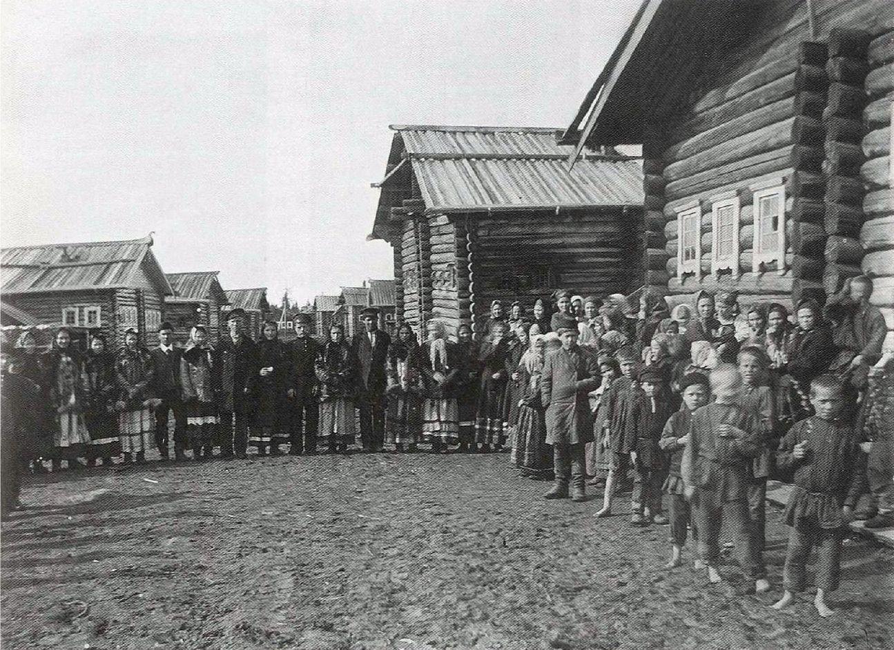 Крестьяне Мезенского уезда