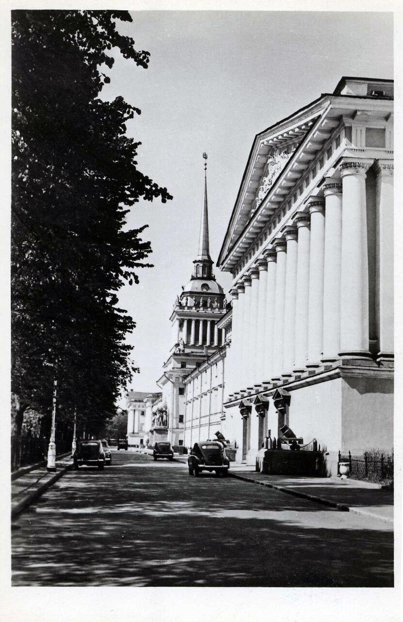 Высшее военно-морское училище им. Ф. Э. Дзержинского. 1961