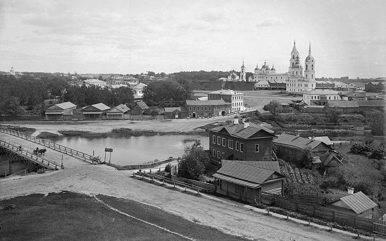 Общий вид города Кашин. 1894 г. г. Кашин, Тверская губерния