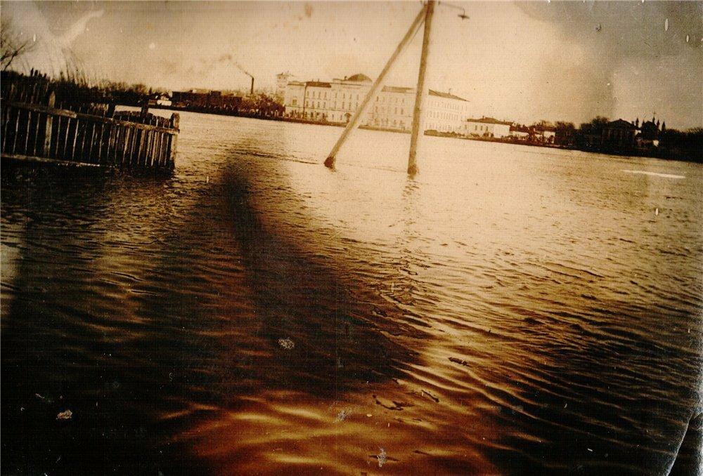 3. Майское наводнение в 1929 году, в городе Тверь