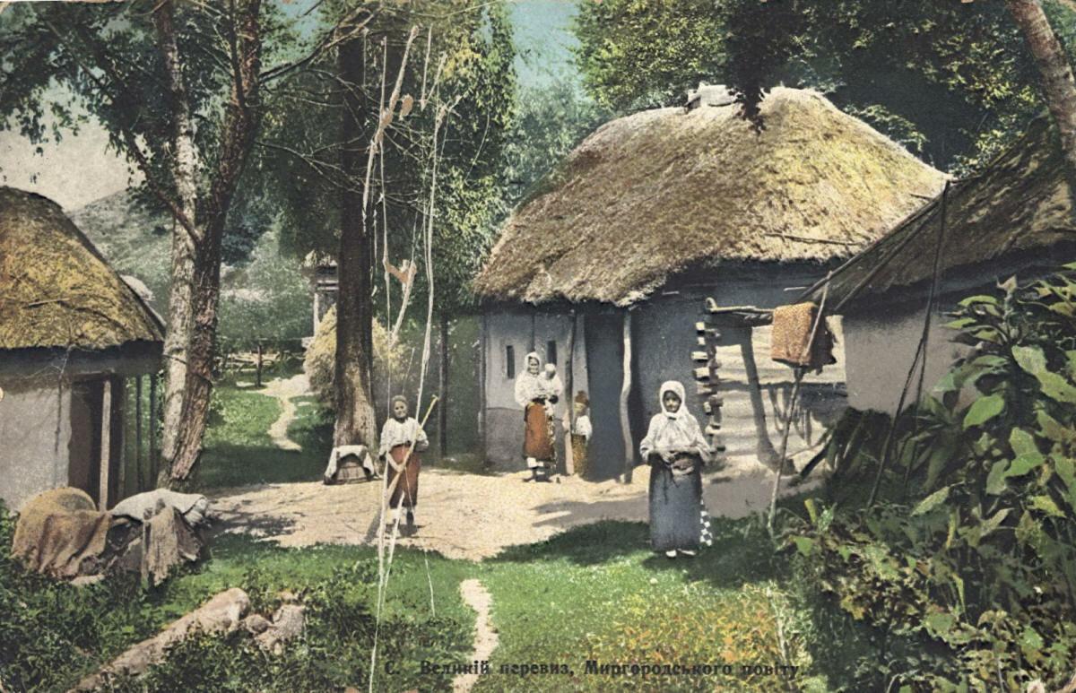 Село Большой перевоз Миргородского уезда