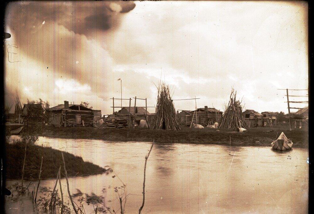 Село Полноват. Панорама села