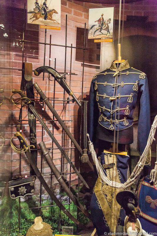 Мундир генерала лейб-гвардии гусарского полка. 1840-е годы.