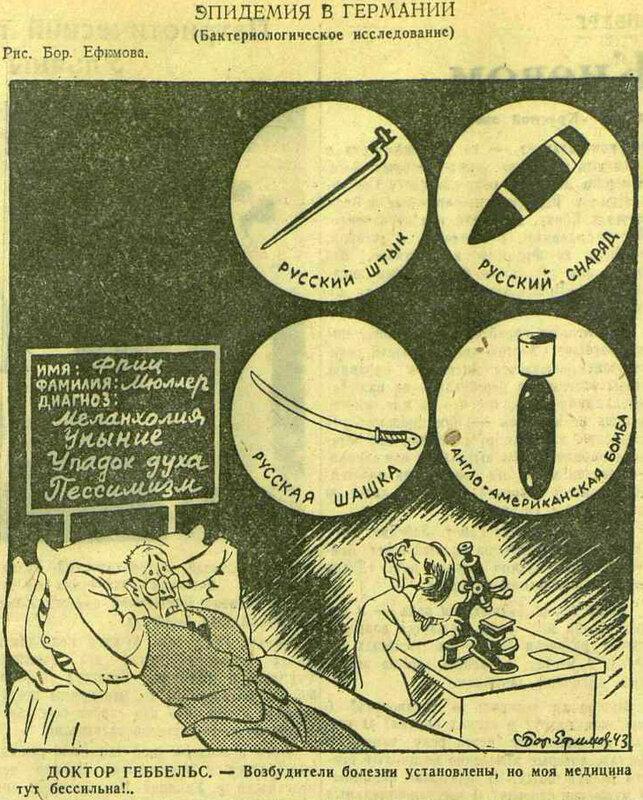 «Красная звезда», 14 октября 1943 года, Германия в ВОВ, пропаганда Геббельса