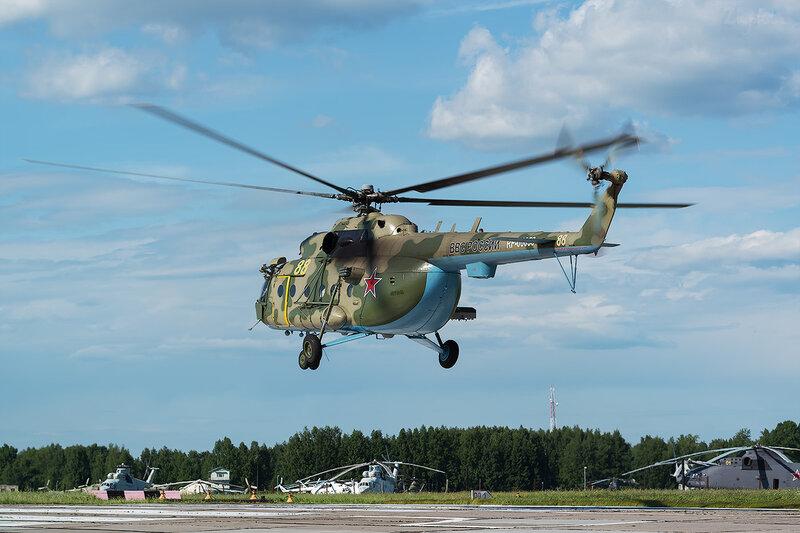 Миль Ми-8МТ (RF-06058 / 88 жёлтый) D800973