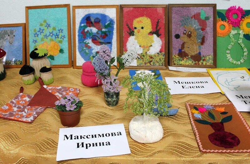 Выставка работ ОИ 2013