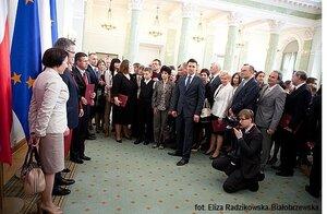 Prezydent wręczył nominacje 61 profesorom
